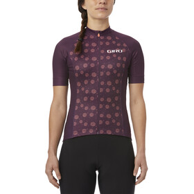 Giro Chrono Sport Kortärmad cykeltröja Dam pink/violett
